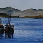 Fishing Boats Oban, Scotland