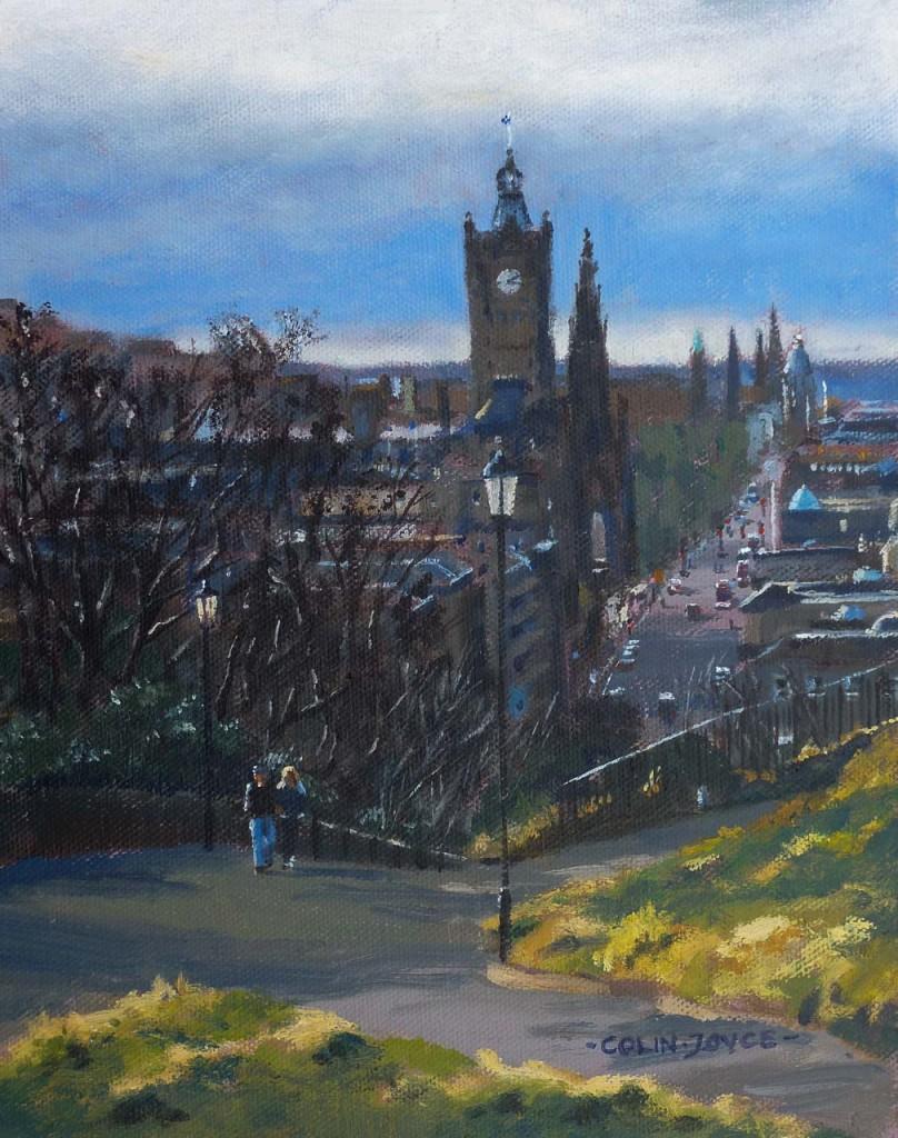 Edinburgh Calton Hill day