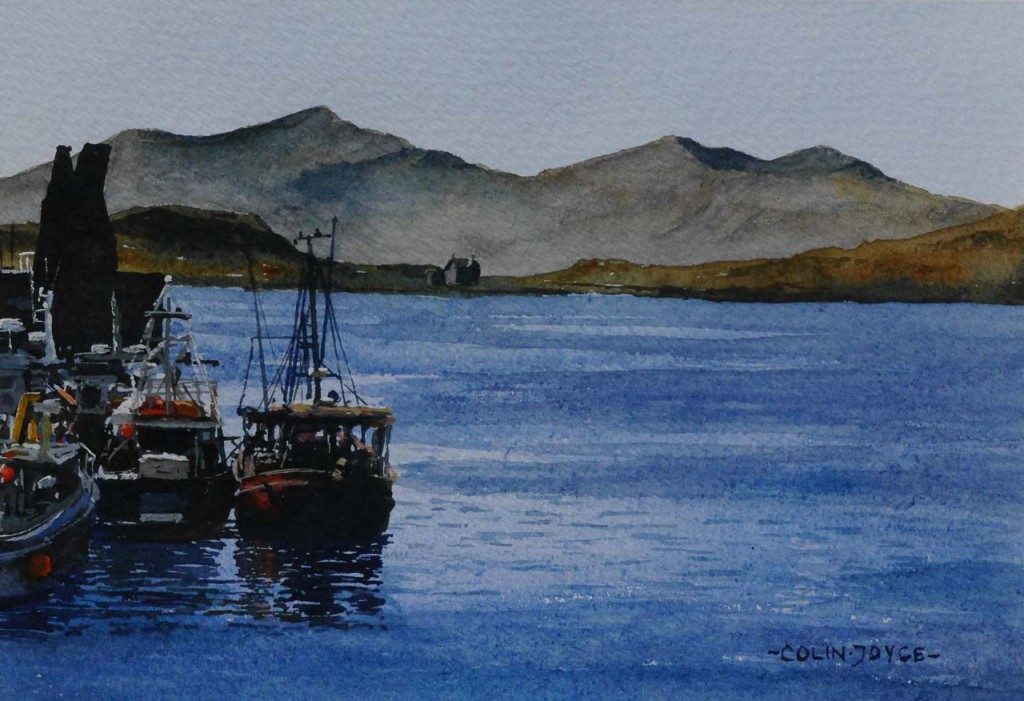 fishing boats Oban Scotland