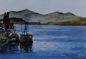 Fishing Boats Oban Scotland