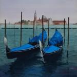 Gondolas And San Giorgio Maggiore
