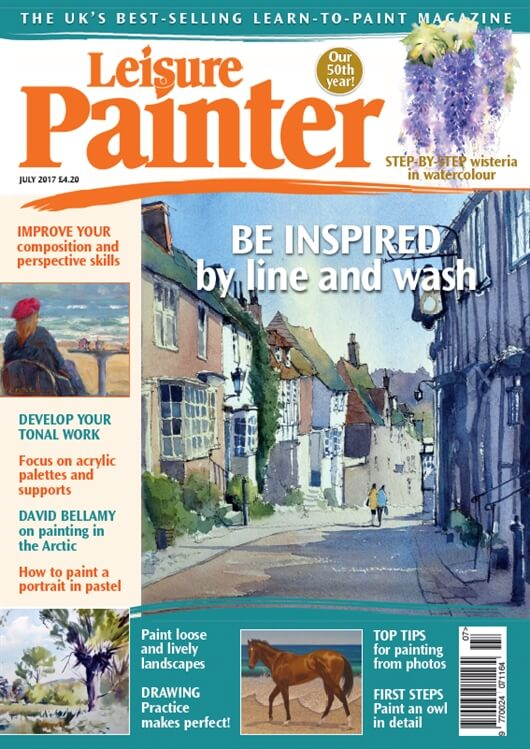 Article In July Issue Of Leisure Painter