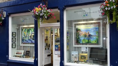 greens and blues gallery north berwick